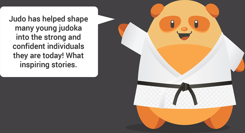 Judo has helped shape many young Judoka into the strong and confident individuals they are today! What inspiring stories.